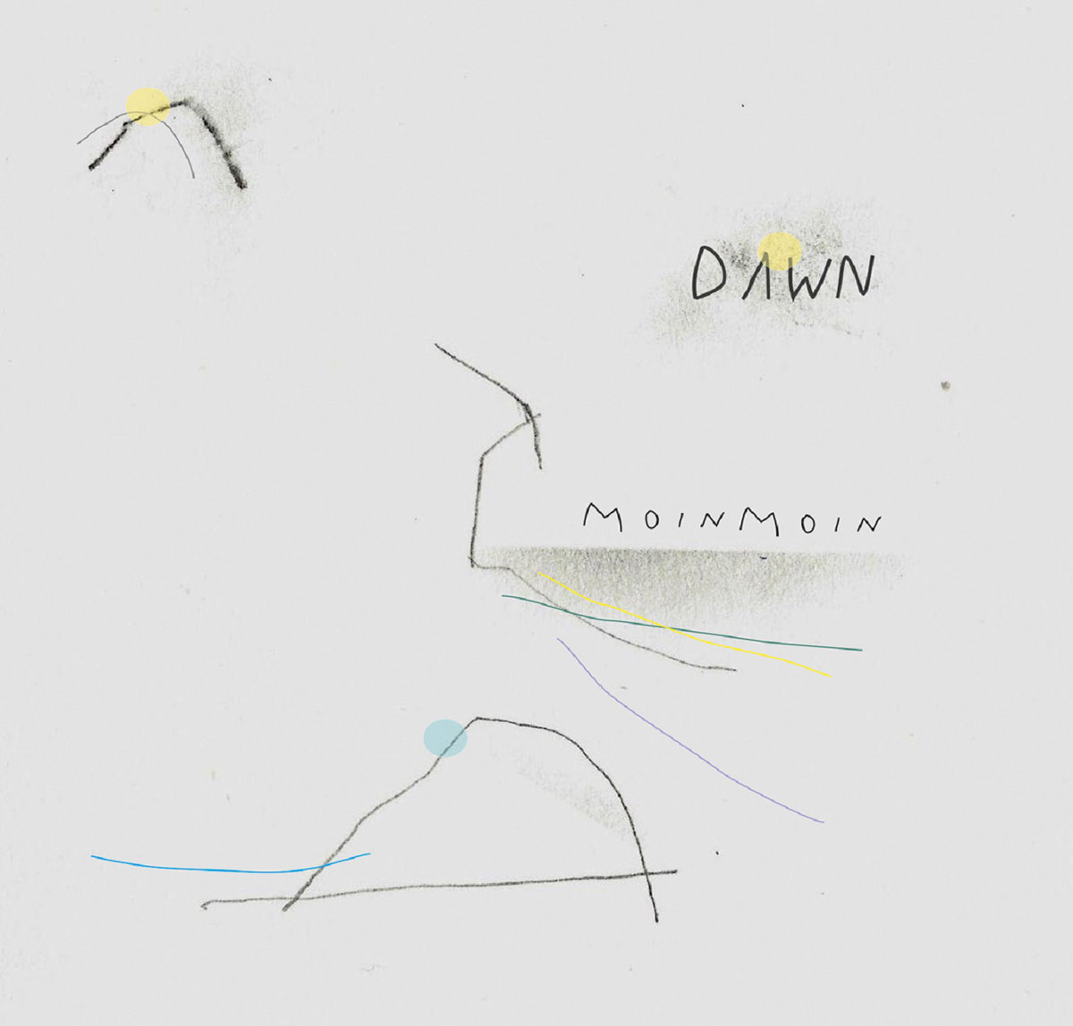 moin moin dawn album art
