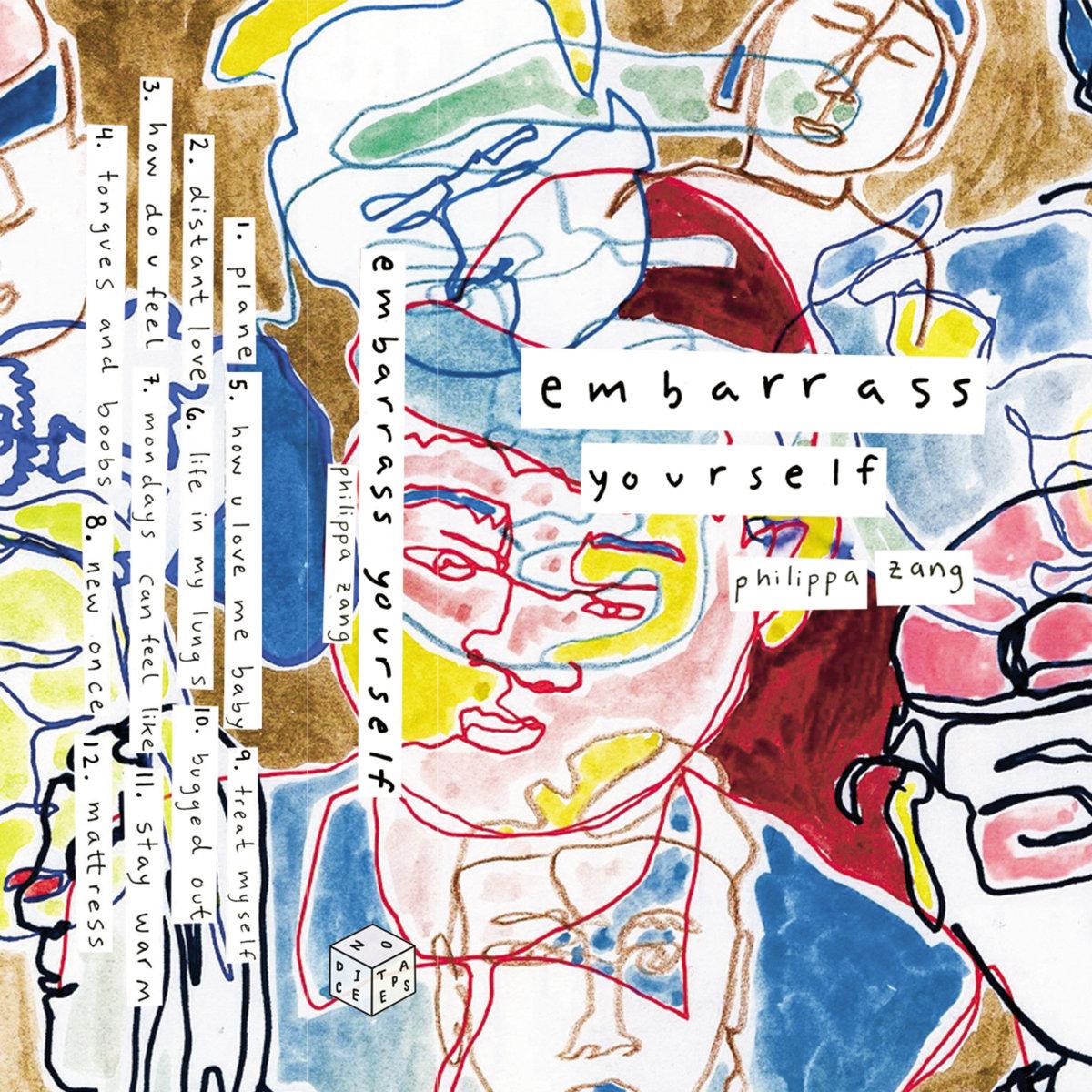 embarrass yourself philippa zang album art