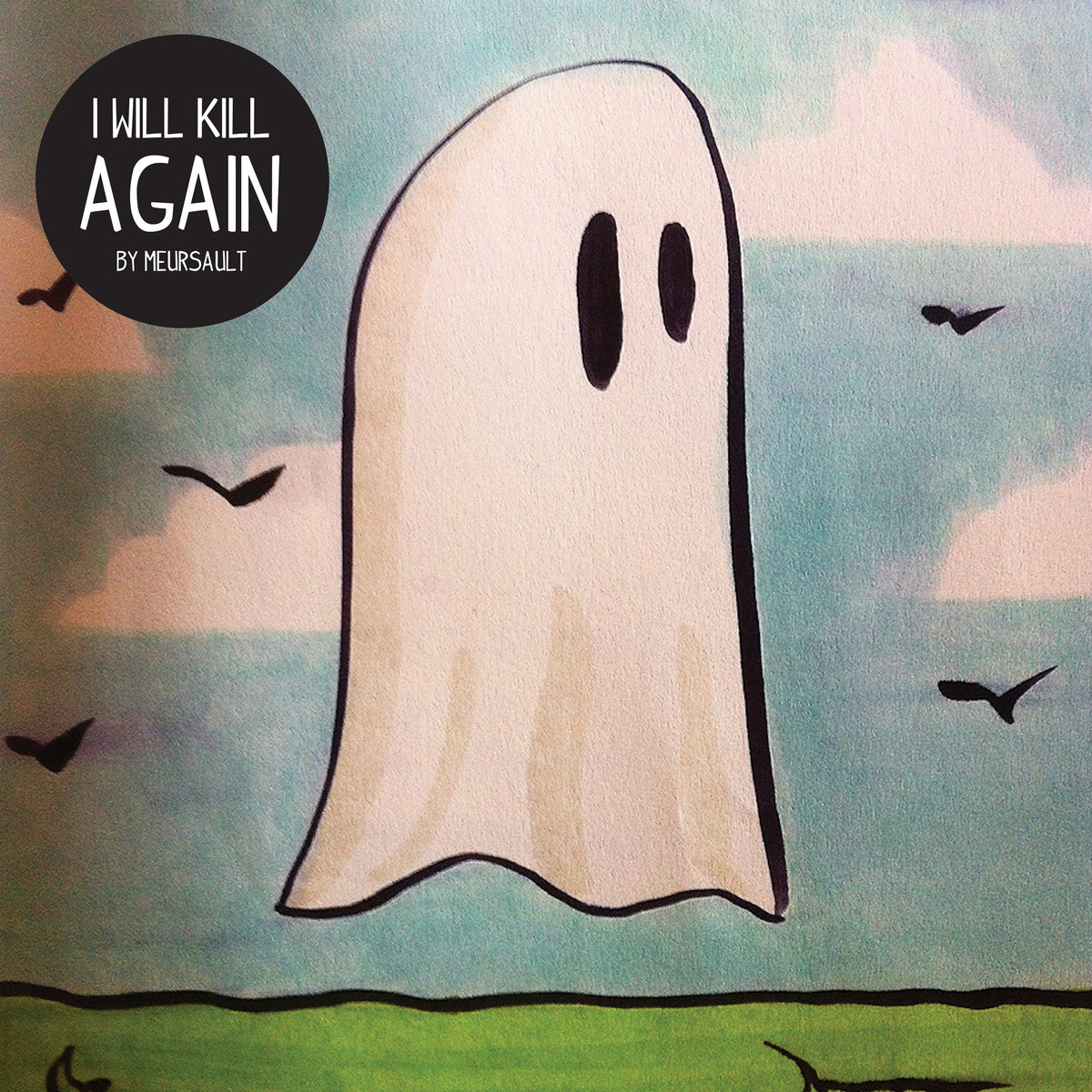 meursault i will kill again cover art ghost