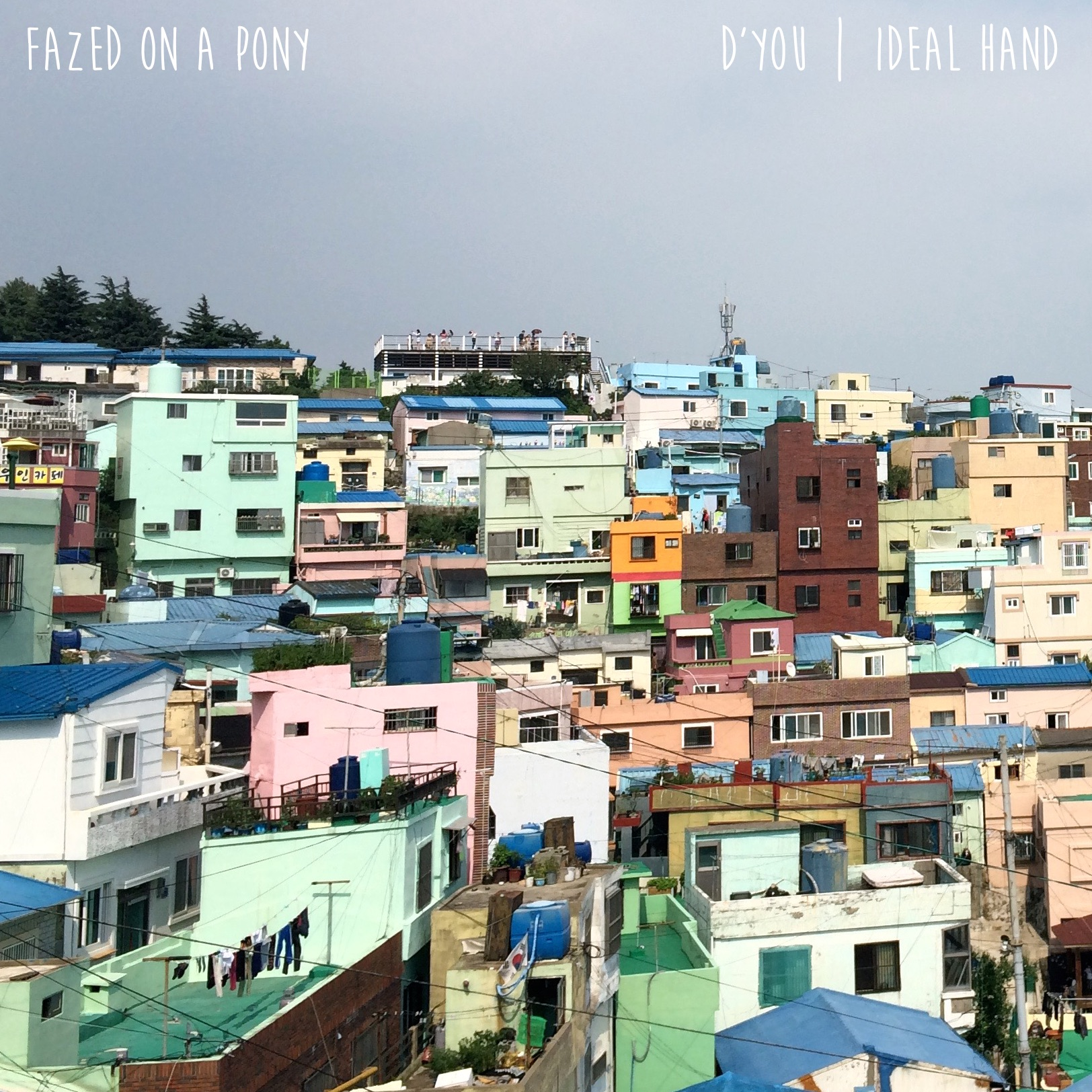 Fazed on a pony single artwork