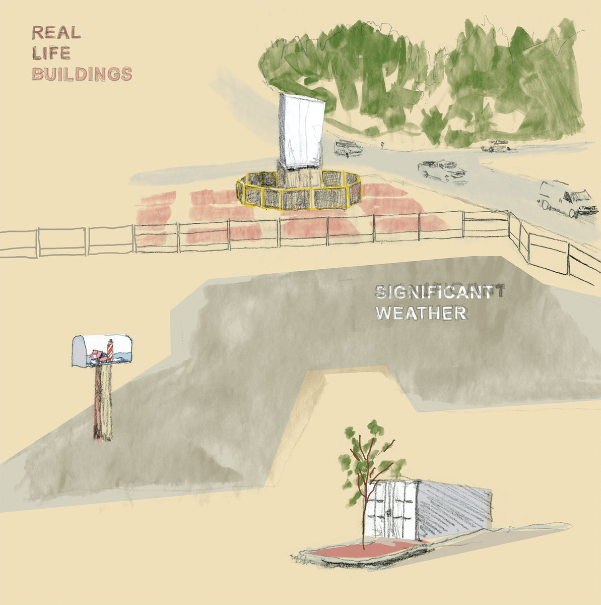 Real Life Buildings significant weather album art