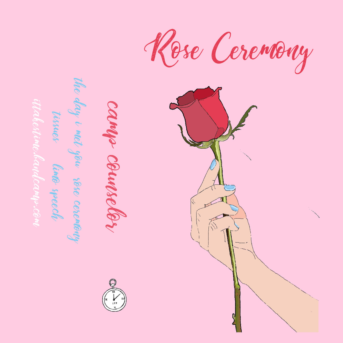 camp counselor rose ceremony album art