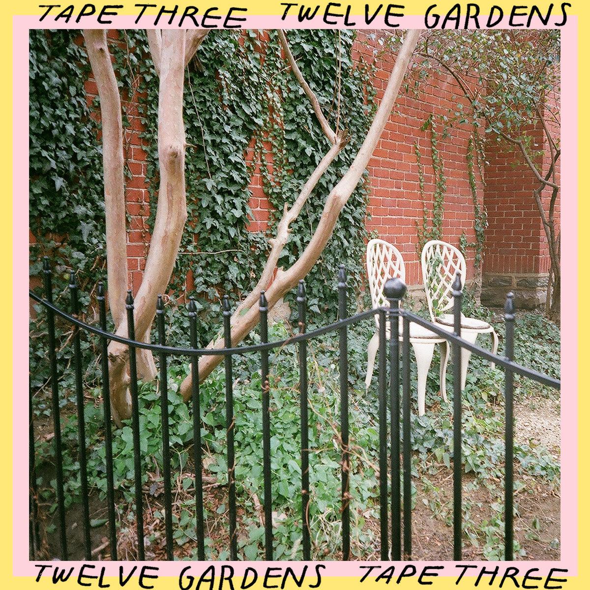 Twelve Gardens tape three album art