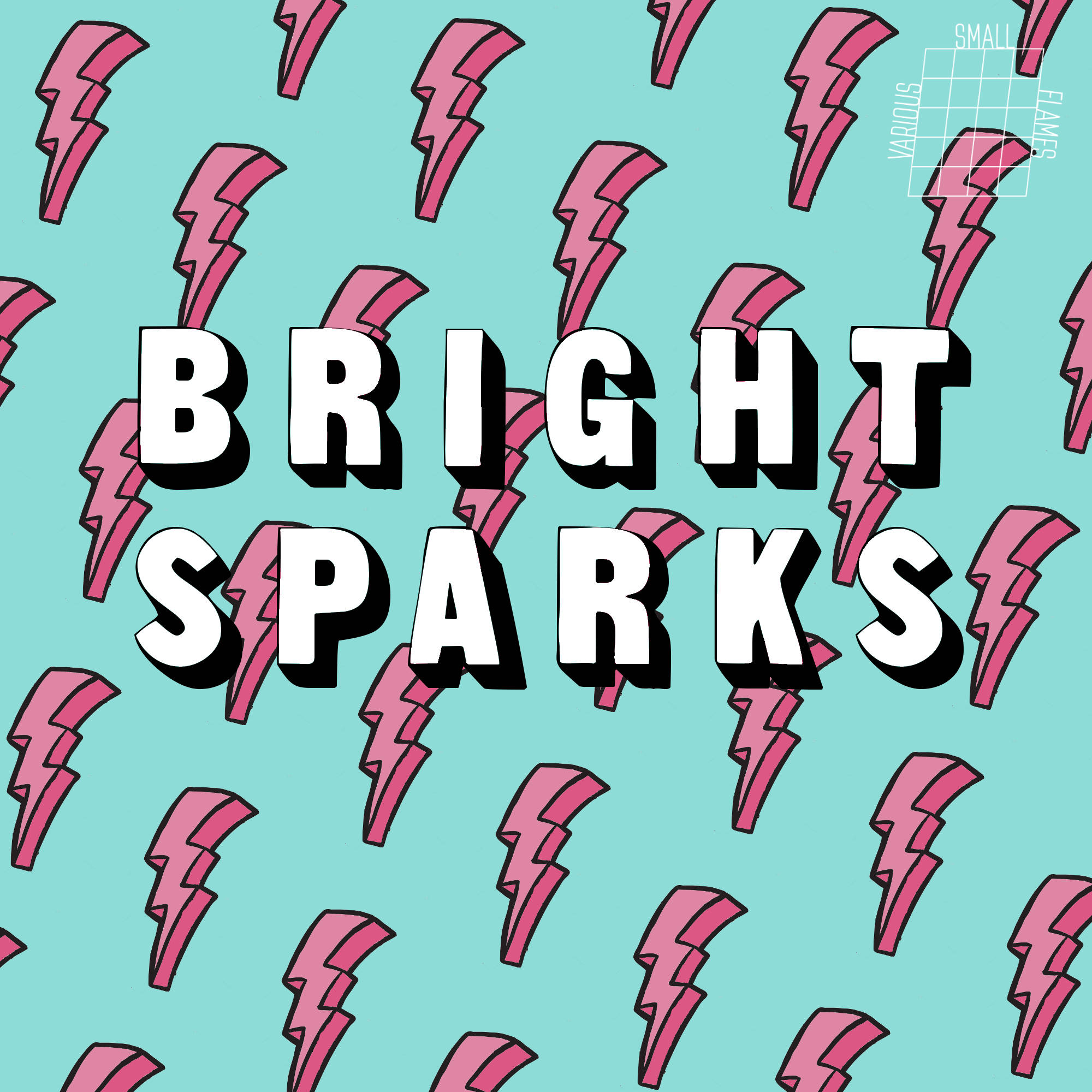Bright Sparks cover various small flames