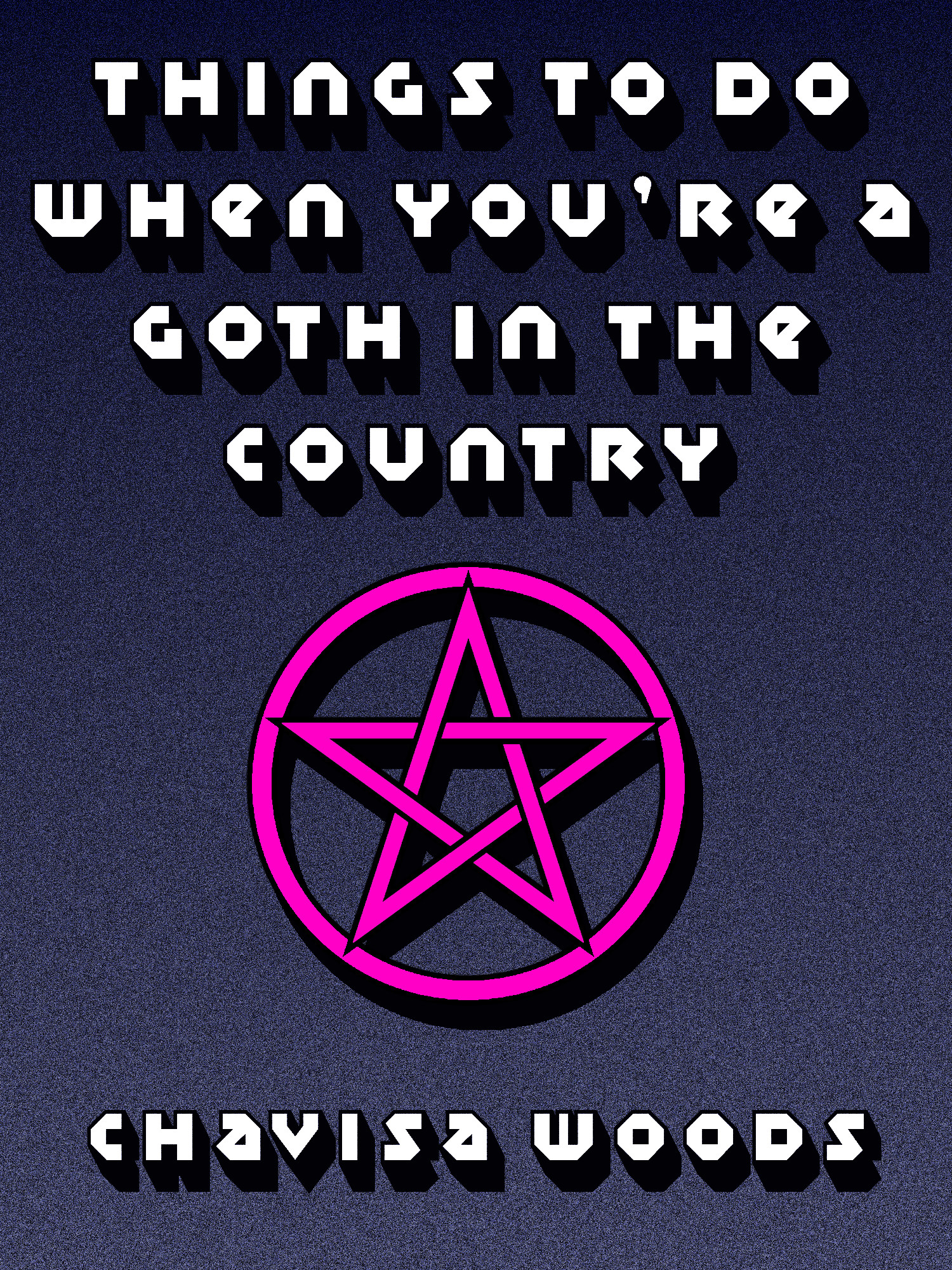 book cover chavisa woods goth in country