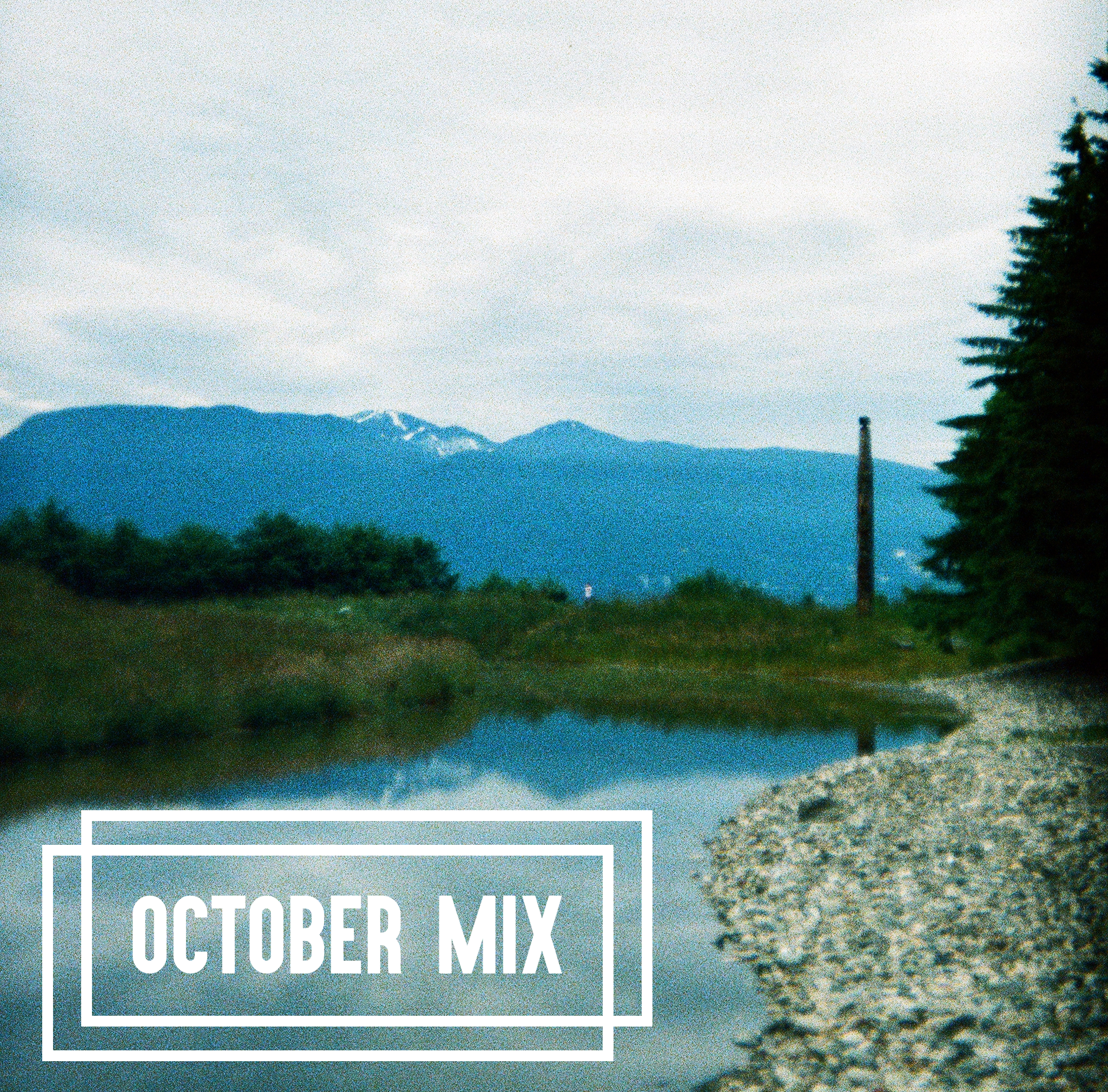 october mix 2017 artwork